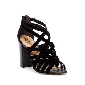 Sam Edelman Yori Stacked Heel Sandals